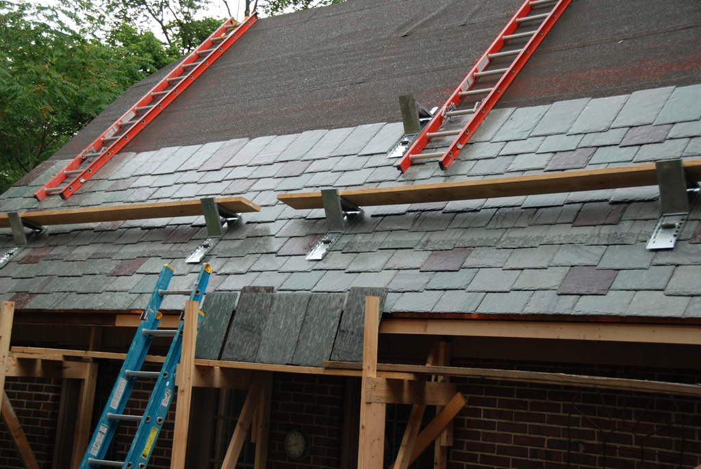 Fire Rated Roofing : Installing a new roof mortelliti contractors
